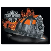 SIGN- FIRE HELMET