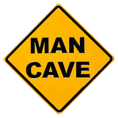 SIGN-MAN CAVE DIAMOND