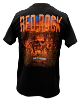 Men's Red Rock Skull