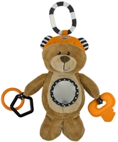 "TOY-""HONEY BEAR"" 9"" SENSORY PLUS"
