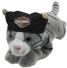"Harley-Davidson Toy -  Steel Cool Cat 14"" Cuddle Buds"