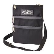 H-D BLACK SLING CROSS BODY BAG