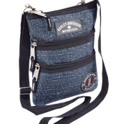 H-D BLUE SLING CROSS BODY BAG