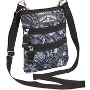 H-D GRAY TATTOO SLING CROSS BODY BAG