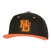 HAT LV CUSTOM ORANGE HD BLK/ORG