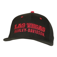 BALL CAP CUSTOM  RED & BLACK