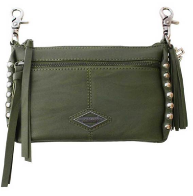 H-D BALL & CHAIN HIP BAG - OLIVE