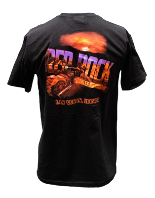Red Rock Harley-Davidson T-shirt Men's Red Rock Short Sleeve