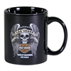 Las Vegas H-D Mug with Custom Skull and Wings