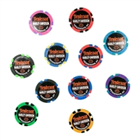 CUSTOM MULTI-COLOR POKER CHIPS (INDIVIDUAL)