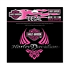 H-D SMALL CHROME DIVA WINGS DECAL