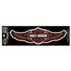 H-D 5X-LARGE STRAIGHT WING DECAL