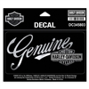 Harley-Davidson Medium Premium Genuine Decal