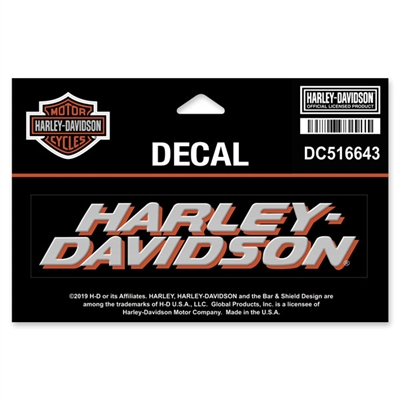 HARLEY-DAVIDSON MEDIUM DECAL