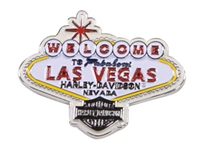 Las Vegas H-D Custom Welcome Magnet