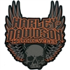 H-D 3X-LARGE GOTHIC WINGS EMBLEM