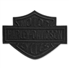 H-D LARGE BAR & SHIELD EMBLEM - BLACK