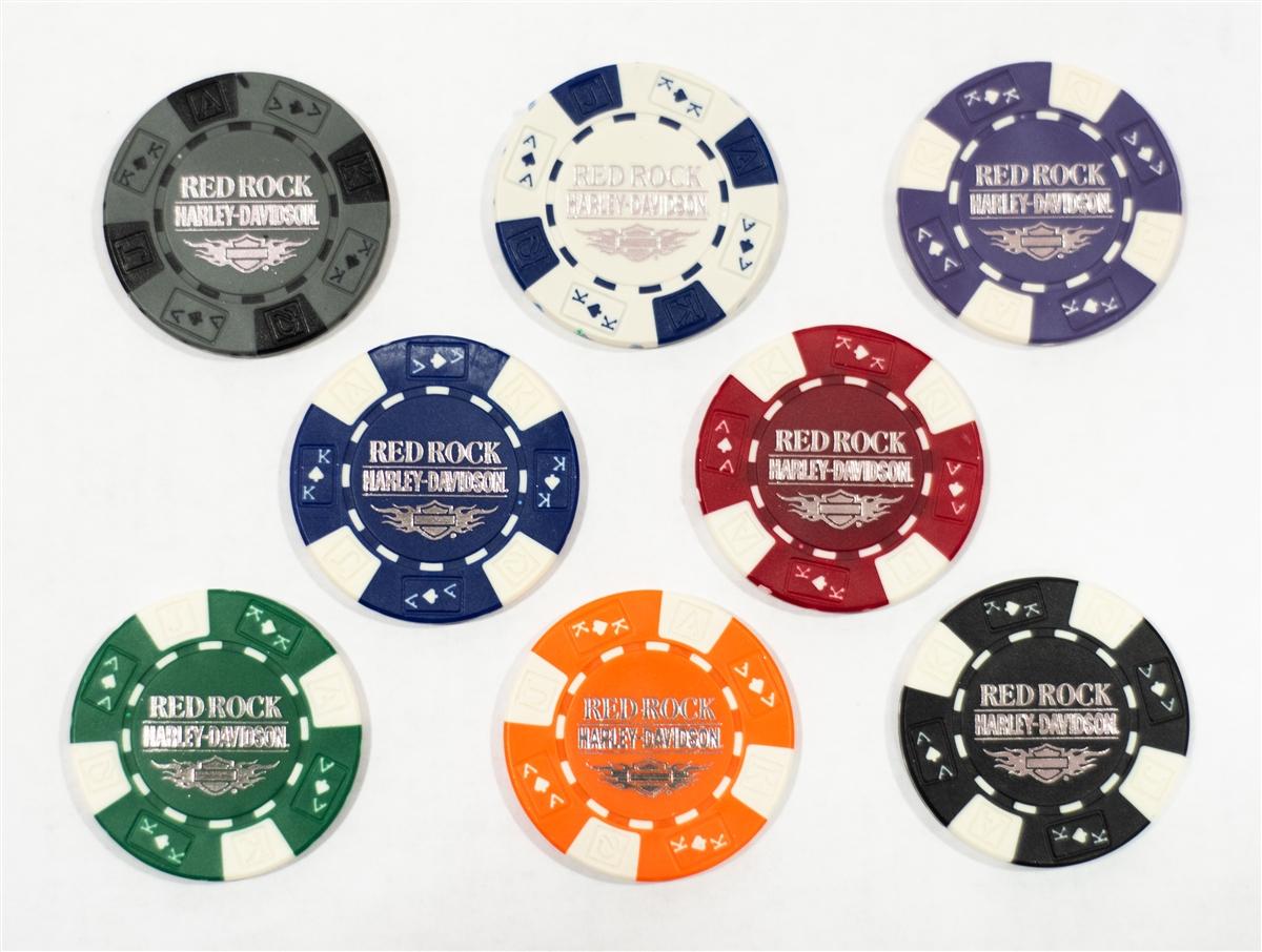 Harley Davidson Las Vegas NV Poker Chip See Details for Colors Available