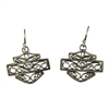 Harley-Davidson .925 Silver Bali Style Filigree B & S Earrings