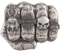 Harley-Davidson Men's Fist Forward Buckle