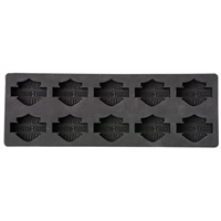 H-D BAR & SHIELD SILICONE ICE CUBE TRAY