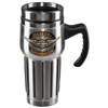 H-D WINGED B & S TRAVEL MUG