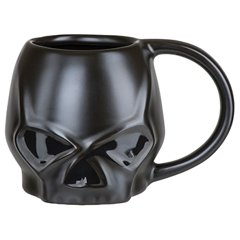 H-D SKULL SCULPTED MUG