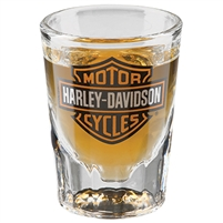 H-D BAR & SHIELD SHOT GLASS