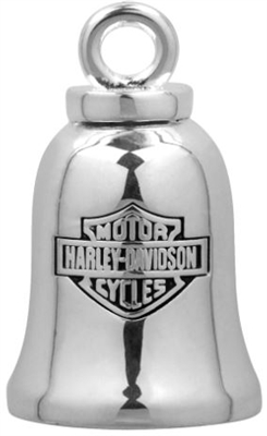 H-D RIDE BELL SILVER BAR & SHIELD