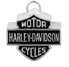 H-D RIDE BELL SILVER BAR & SHIELD EMBLEM