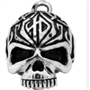 H-D RIDE BELL TRIBAL SKULL