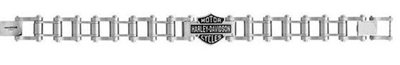 H-D MEN'S STEEL ENGINE BIKE CHAIN BRACELET