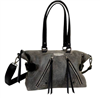HD BURNISHED GARAGE SATCHEL PURSE