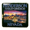 Henderson Harley-Davidson Pin - Strip Skyline