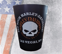 Custom H-D Skull Shot Glass