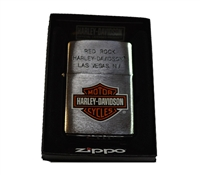 Red Rock H-D Zippo Lighter