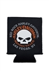 Can Coozie - RRHD Willie G. Skull