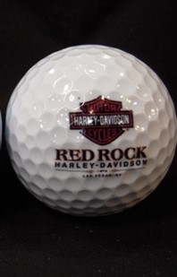 Red Rock Harley Golf Balls