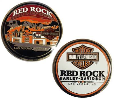 Red Rock H-D Challenge Coin