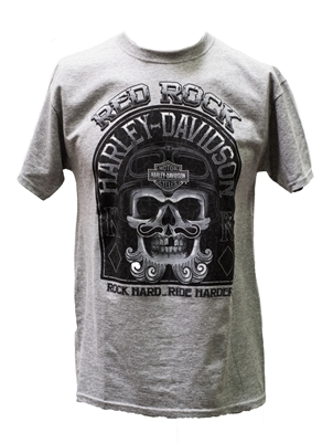 Men's Red Rock Harley-Davidson Dread King Shirt
