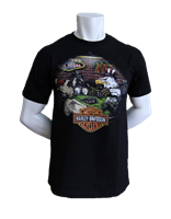 Las Vegas Harley Mens Animal House Shirt