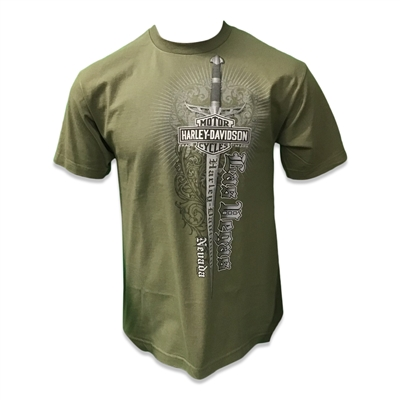 Men's Las Vegas Elite Military T-shirt