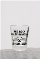 Red Rock H-D Willie G. Shotglass