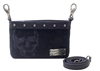H-D SKULL JACQUARD HIP BAG - BLACK