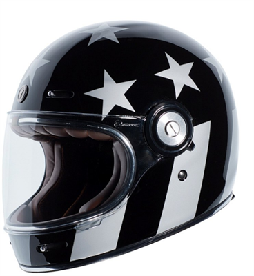 Captain Vegas Retro Full Face Helmet