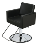 Paragon9019 Piazza Black Styling Chair with HB05 Base