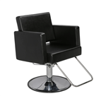 Paragon 9025 Larkin Salon Styling Chair with HB05 Base  9025.C01.HB05