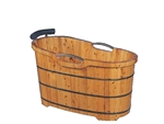 B & S  Cedar Bath Barrel