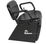 Collins Cody Shampoo Chair With Legrest - COL-3750L