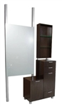 Collins Amati Bi-Level Styling Station With Retail Display - COL-938-48